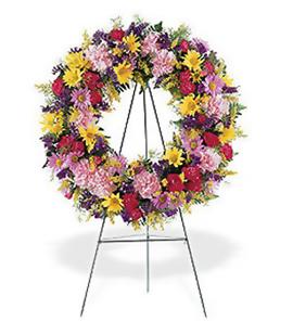 Sympathy Peace Wreath
