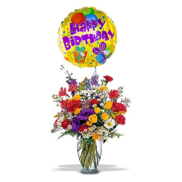 Happy Birthday Arrangement  - -Canada