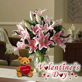 My Valentine Lilies