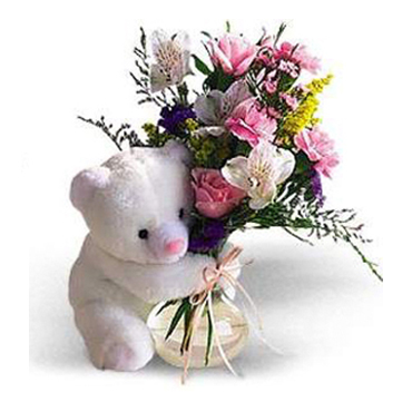 Canada Bear Hug - Flowers to  Richmond-British Columbia